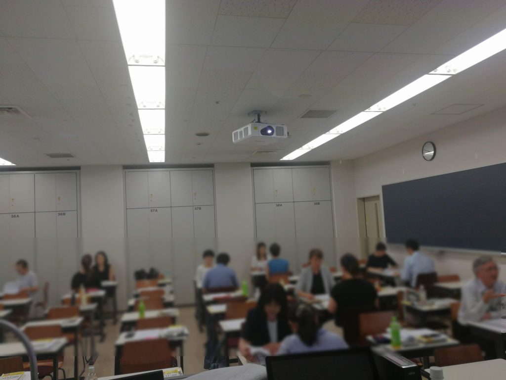 2019.8 ハラスメント相談員の研修会(新宿)で講師を担当