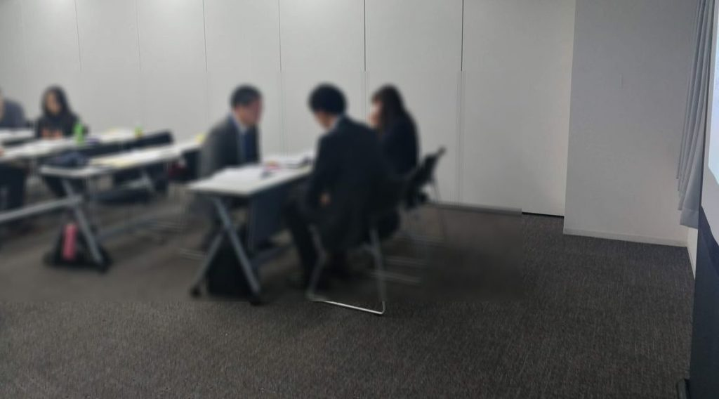 2019.12 ハラスメントの相談対応担当者向け研修会で講師を担当